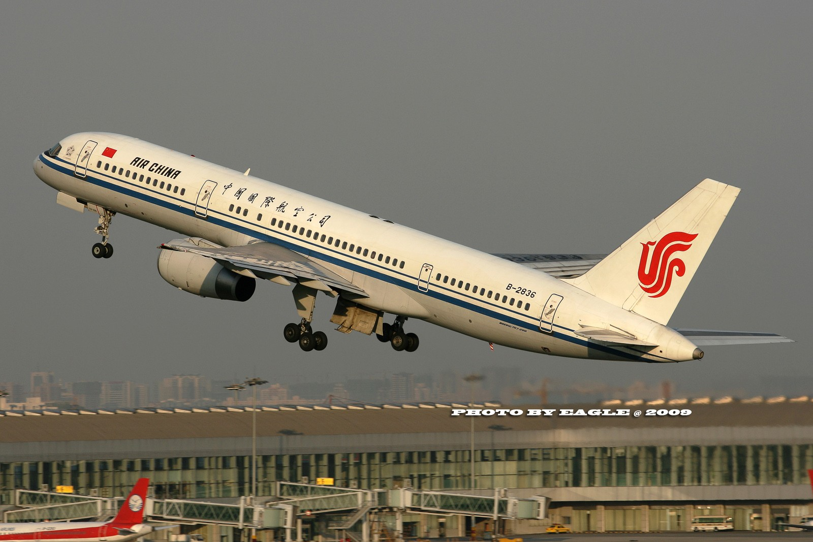 Re:[原创]全方位的CTU.(时间:06-08) BOEING 757-200 B-2836 中国成都双流机场