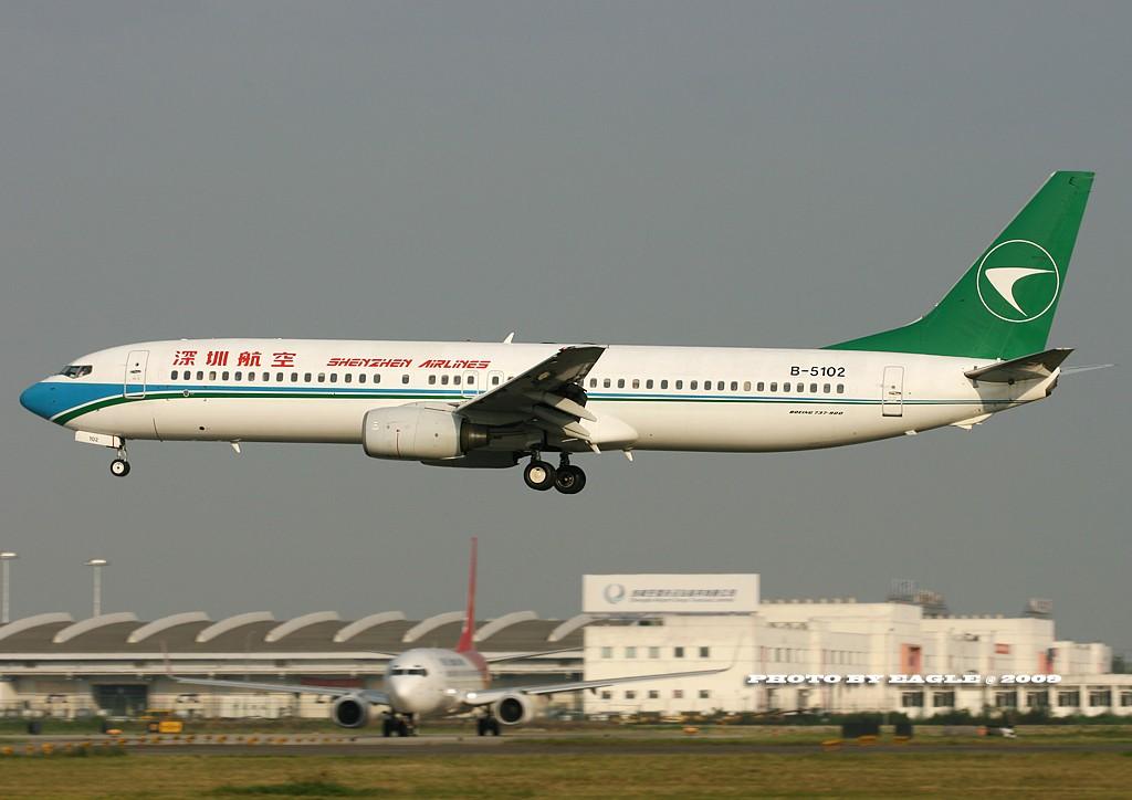 Re:[原创]全方位的CTU.(时间:06-08) BOEING 737-900 B-5102 中国成都双流机场