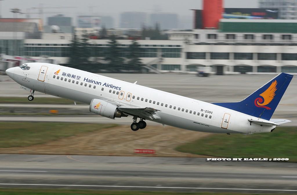 Re:[原创]全方位的CTU.(时间:06-08) BOEING 737-400 B-2501 中国成都双流机场