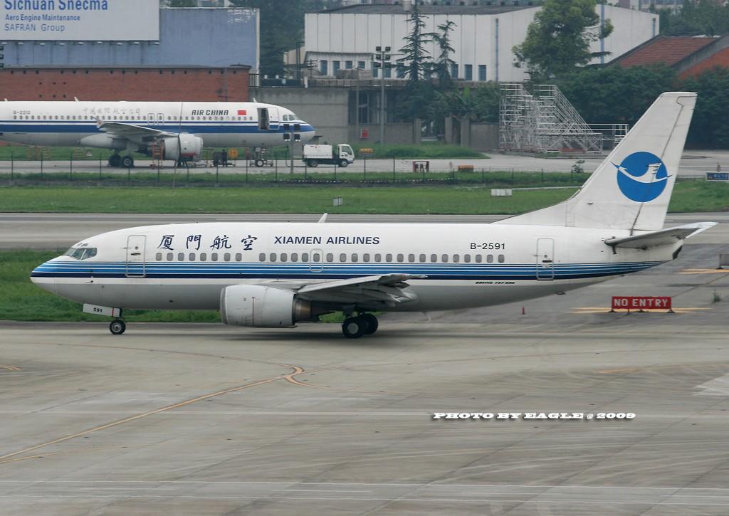 Re:全方位的CTU.(时间:06-08) BOEING 737-500 B-2591 中国成都双流机场