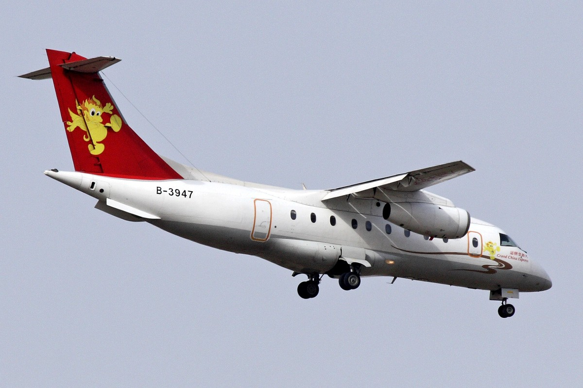 Re:[原创]西安咸阳机场拍机 新位置,新角度,大家看看如何 FAIRCHILD DORNIER 328-300 B-3947 中国西安咸阳机场