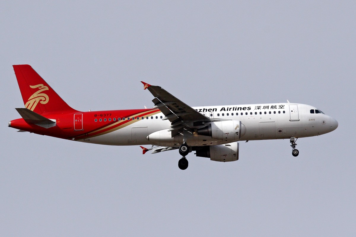 Re:西安咸阳机场拍机 新位置,新角度,大家看看如何 AIRBUS A320-214 B-6377 中国西安咸阳机场