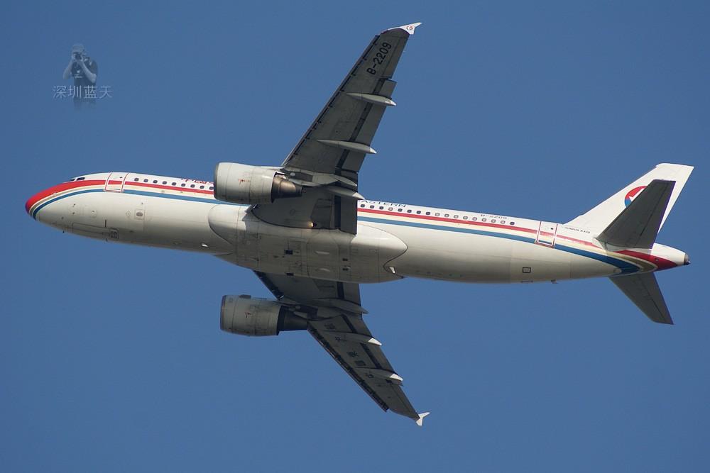 Re:[原创]【深圳打机队】把自己拍过的东航飞机做个小小的总结,欢迎大家按一楼没有出现的飞机编号跟图,我们一起来完善东航飞机系列图! AIRBUS A320-200 B-2209 中国深圳宝安机场