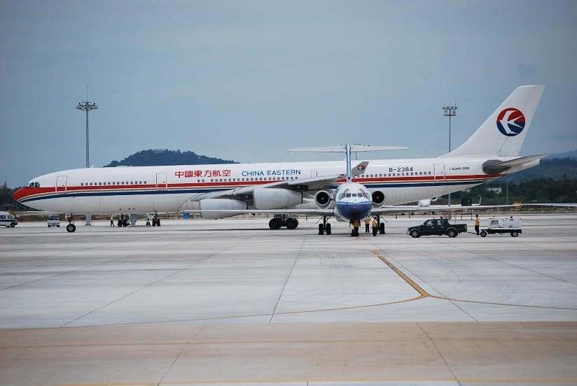 Re:[原创]【深圳打机队】把自己拍过的东航飞机做个小小的总结,欢迎大家按一楼没有出现的飞机编号跟图,我们一起来完善东航飞机系列图! AIRBUS A340-300 B-2384 中国三亚凤凰机场