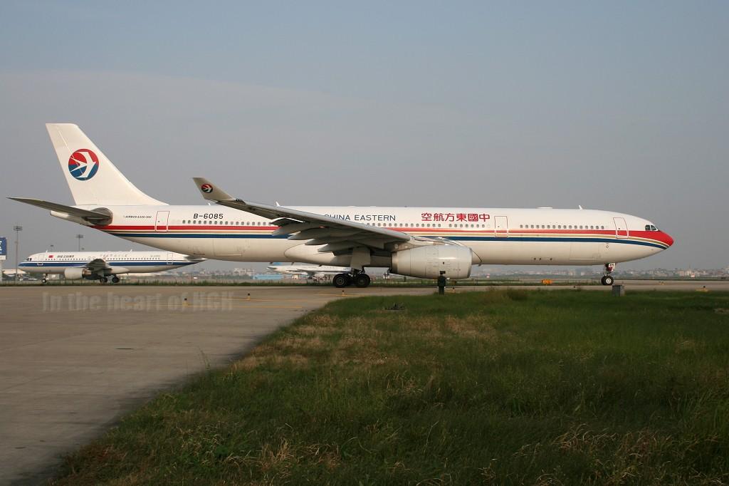Re:[原创]【深圳打机队】把自己拍过的东航飞机做个小小的总结,欢迎大家按一楼没有出现的飞机编号跟图,我们一起来完善东航飞机系列图! AIRBUS A330-343X B-6085 中国杭州萧山机场