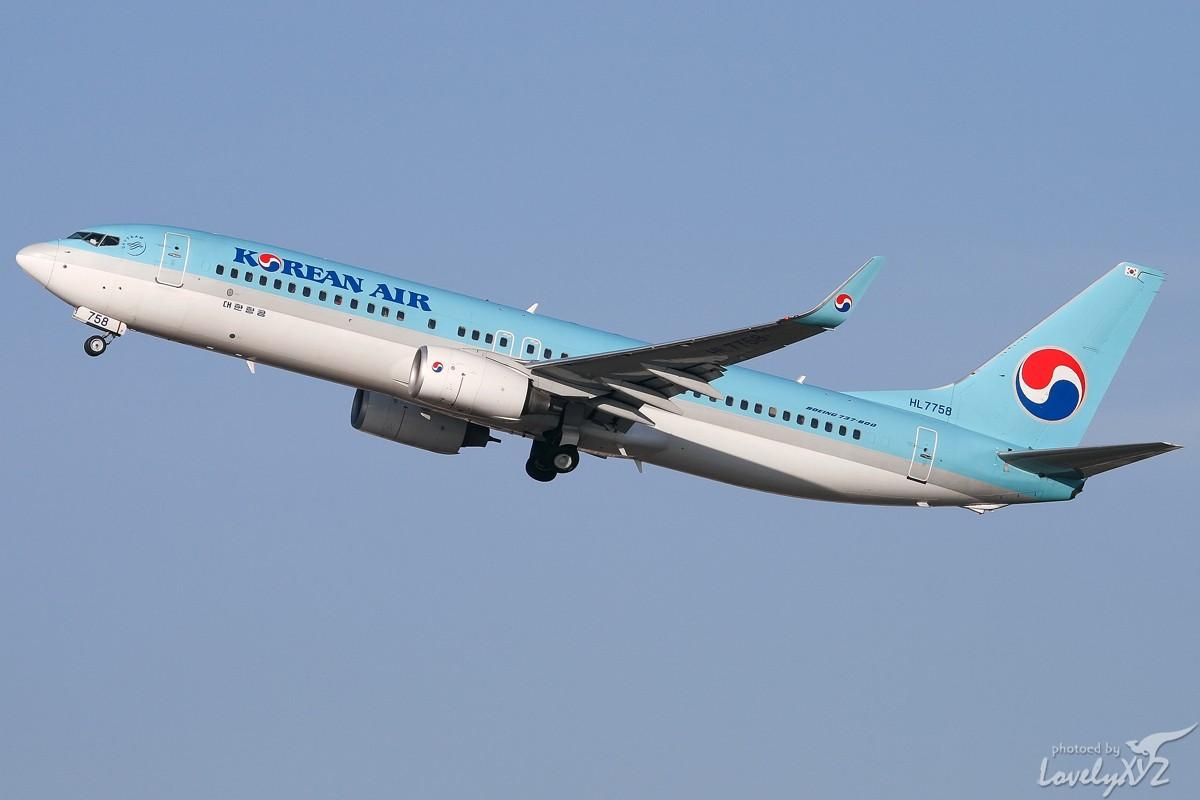 Re:[原创][CASG]年末回大连拍的一些图~~ BOEING 737-800 HL7758 大连
