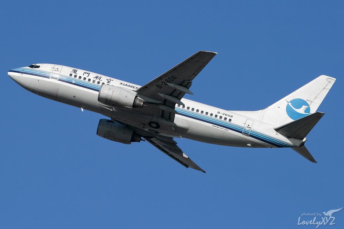 Re:[原创][CASG]年末回大连拍的一些图~~ BOEING 737-700 B-2658 大连
