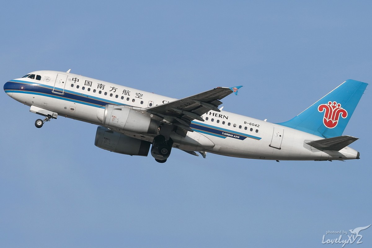 Re:[原创][CASG]年末回大连拍的一些图~~ AIRBUS A319-100 B-6042 大连