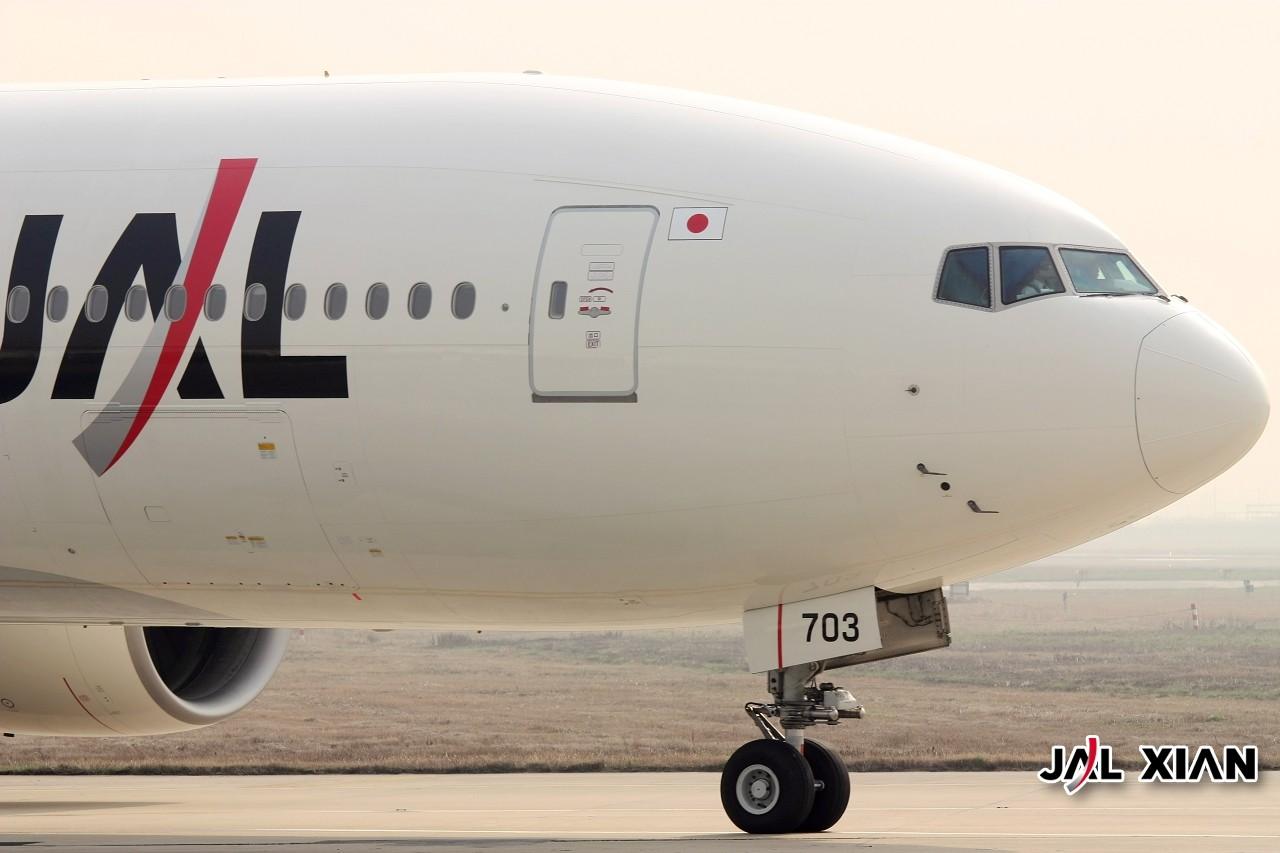 Re:[原创]『JAL XIAN与飞机系列』我在虹桥的一天 BOEING 777-200 JA703J 中国上海虹桥机场