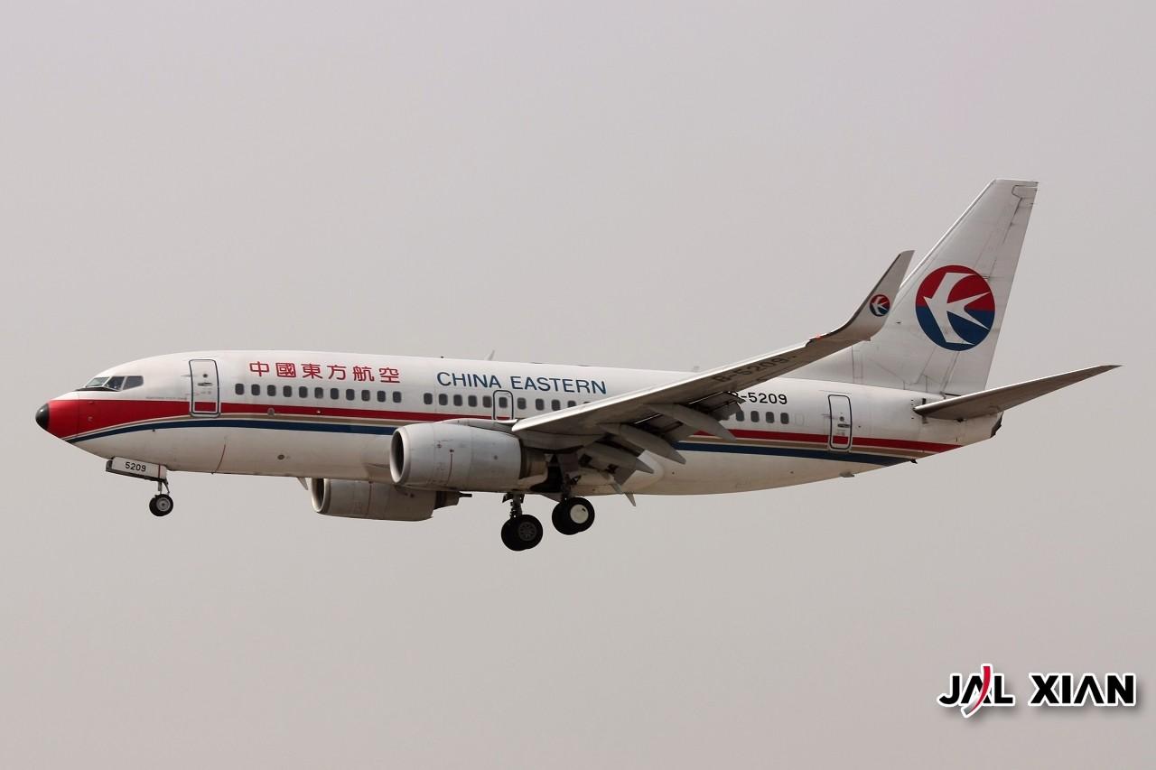 Re:[原创]『JAL XIAN与飞机系列』我在虹桥的一天 BOEING 737-700 B-5209 中国上海虹桥机场