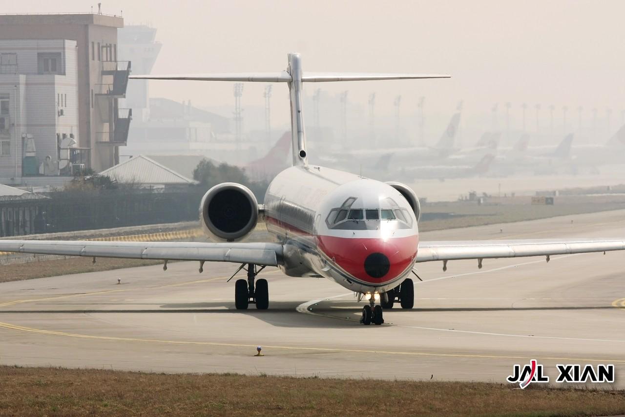 Re:[原创]『JAL XIAN与飞机系列』我在虹桥的一天 MCDONNELL DOUGLAS MD-90 B-2270 中国上海虹桥机场