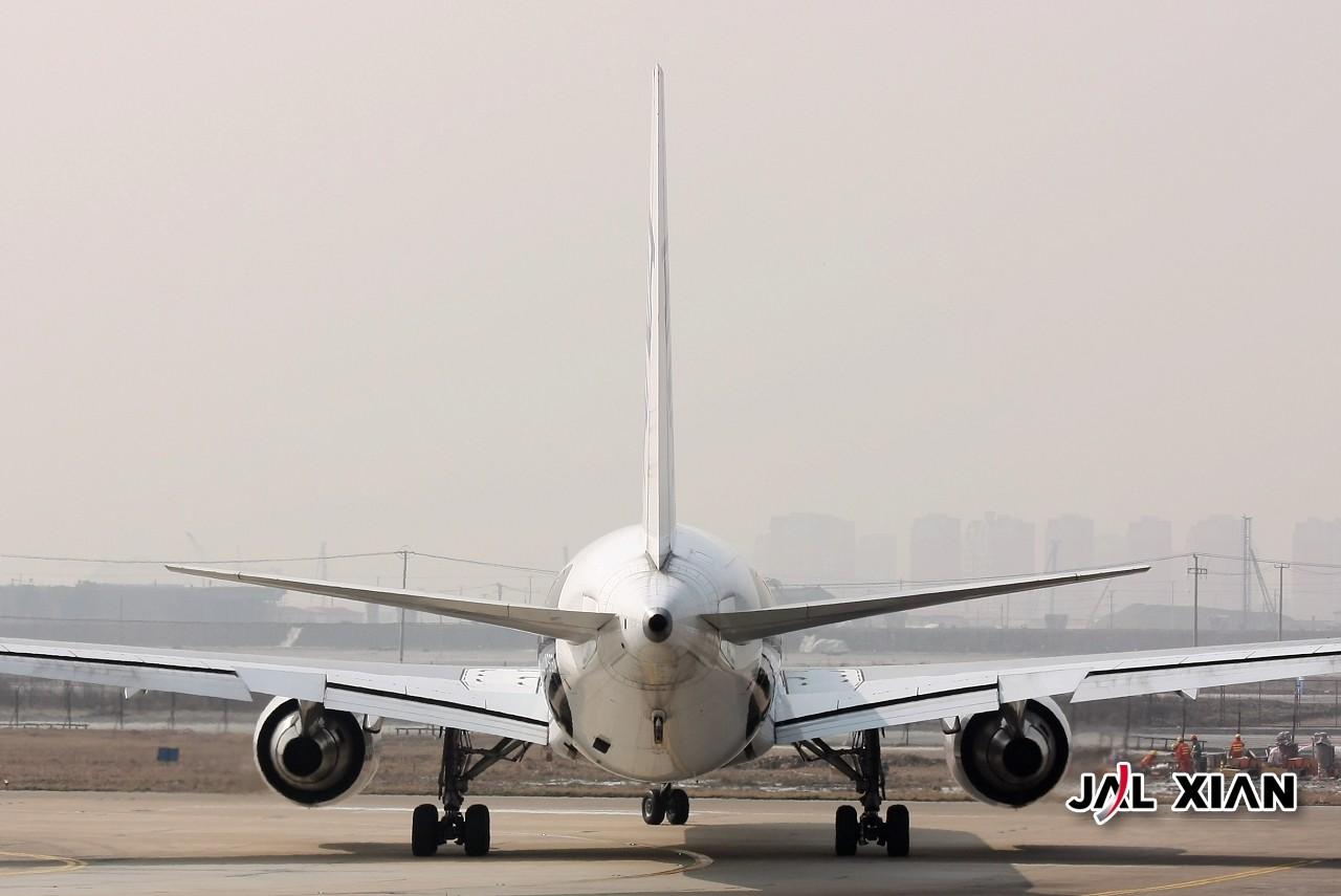 Re:[原创]『JAL XIAN与飞机系列』我在虹桥的一天,没有不是好东西的!(2月12号更新) BOEING 767 JA606A 中国上海虹桥机场