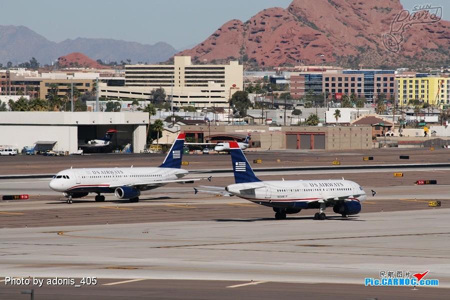 Re:[原创]塔台的兄弟喜欢拍哥俩好系列,我也拍美版哥俩好。 AIRBUS A319-132 N824AW Phoenix Sky Harbor International Airport