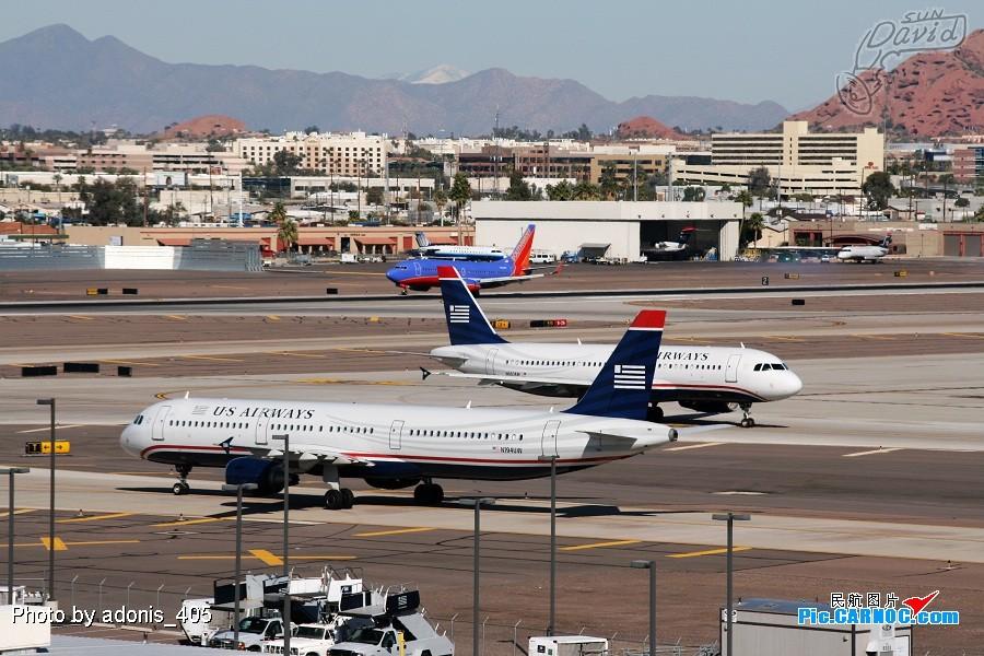 Re:[原创]塔台的兄弟喜欢拍哥俩好系列,我也拍美版哥俩好。 AIRBUS A321-211 N194UW Phoenix Sky Harbor International Airport