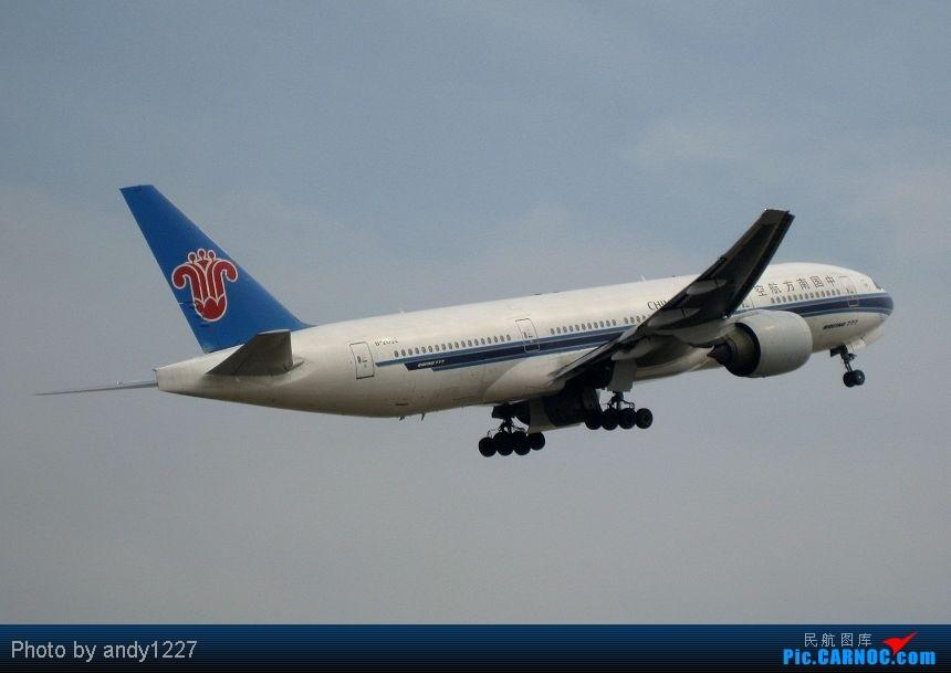Re:[原创]【2.18-SZX】【蝴蝶兰、南航777、B-2499等...】 BOEING 777-200 B-2052 中国深圳宝安机场