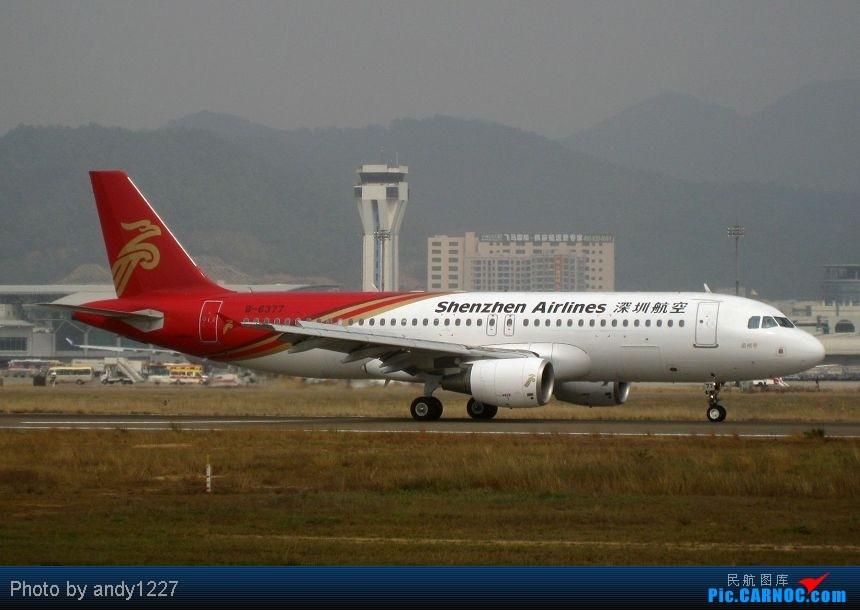 Re:【2.18-SZX】【蝴蝶兰、南航777、B-2499等...】 AIRBUS A320-214 B-6377 中国深圳宝安机场