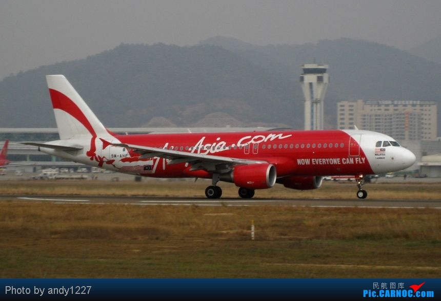 Re:[原创]【2.18-SZX】【蝴蝶兰、南航777、B-2499等...】 AIRBUS A320 9M-AHF 中国深圳宝安机场