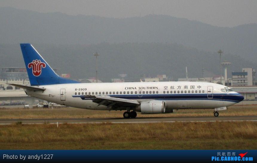 Re:[原创]【2.18-SZX】【蝴蝶兰、南航777、B-2499等...】 BOEING 737-300 B-2909 中国深圳宝安机场