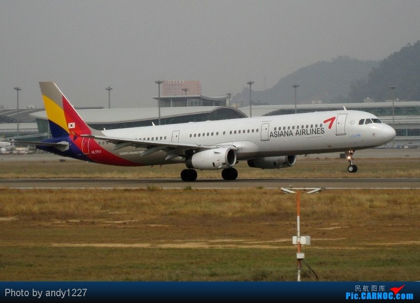 Re:[原创]【2.18-SZX】【蝴蝶兰、南航777、B-2499等...】 AIRBUS A321 HL7711 中国深圳宝安机场