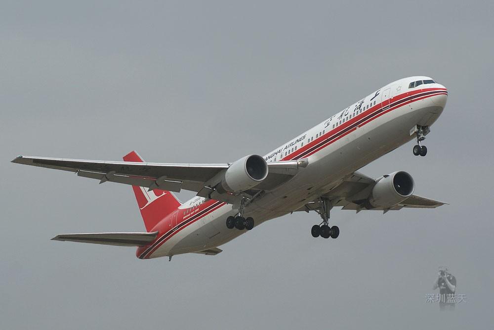 Re:【深圳打机队】新发一组飞机起飞图,同一天拍到的不一样的天空就有不一样的效果 BOEING 767-300 B-2566 中国深圳宝安机场