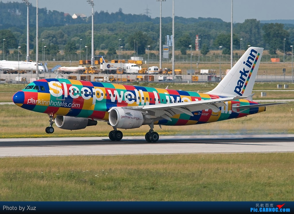 [原创]老徐拍飞机 - 半夜发张Sleep Well, Live Well AIRBUS A320 D-AKNF Germany MUNICH