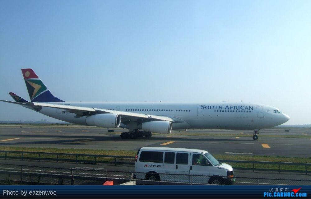 Re:[原创]在JFK的等待中拍机... AIRBUS A340-300 ZS-SXE United States NEW YORK NY/NEWARK K