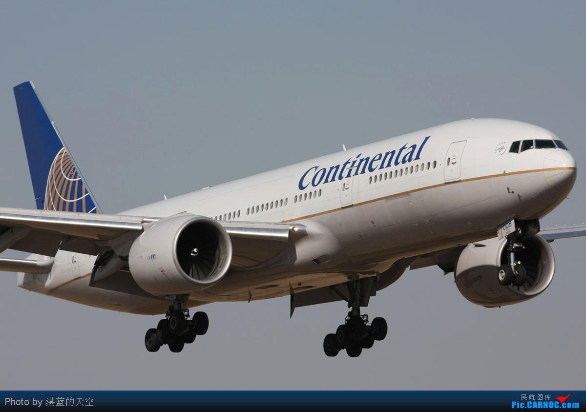 Re:[原创]又向南运行了,不能错过,光线飞机都还不错。。。。 BOEING 777-224/ER N78008 中国北京首都机场