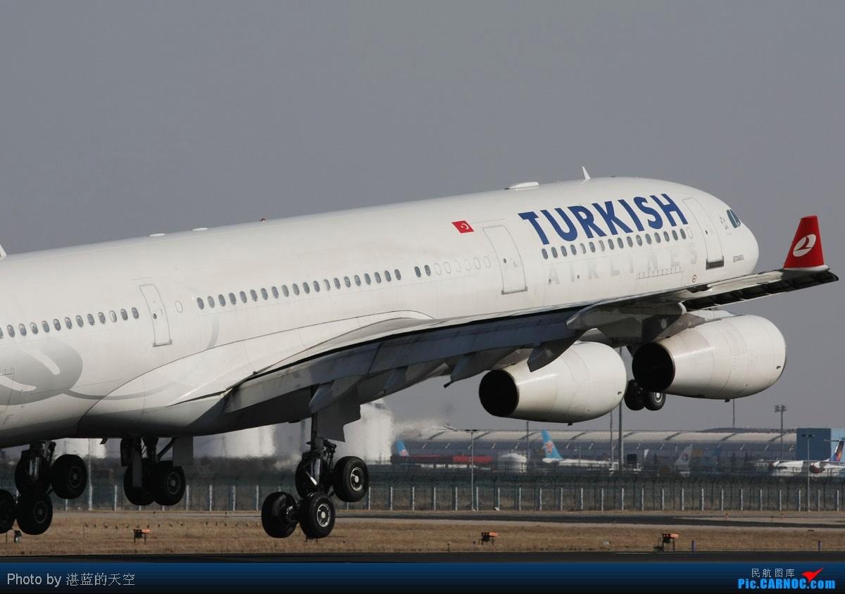 Re:[原创]又向南运行了,不能错过,光线飞机都还不错。。。。 A340-311 TC-JDJ 中国北京首都机场