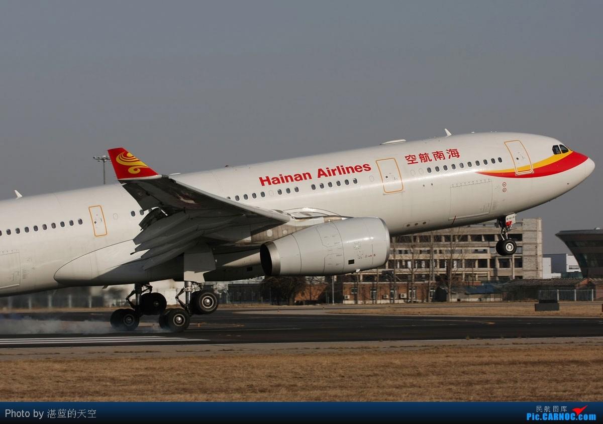 Re:[原创]又向南运行了,不能错过,光线飞机都还不错。。。。 AIRBUS A330-243 B-6118 中国北京首都机场