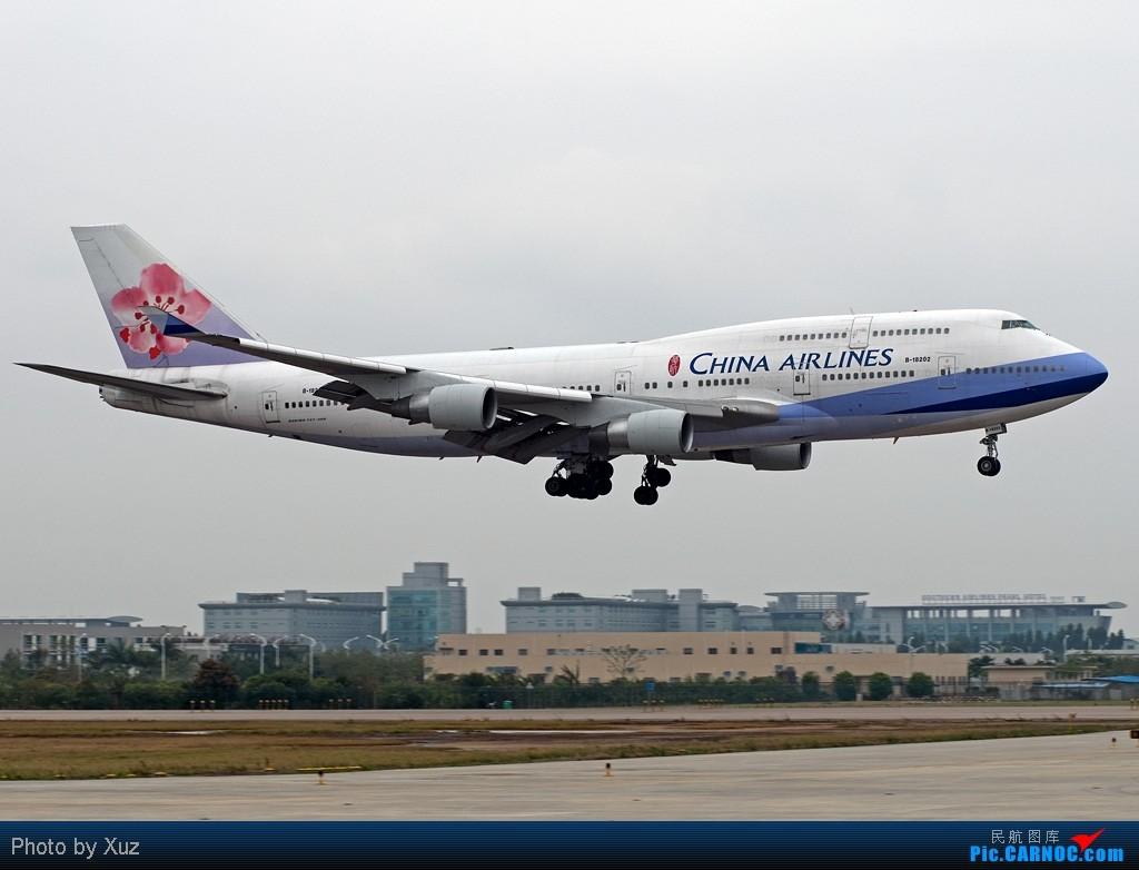 [原创]老徐拍飞机- 今天的广州 BOEING 747-400 B-18202 中国广州白云机场