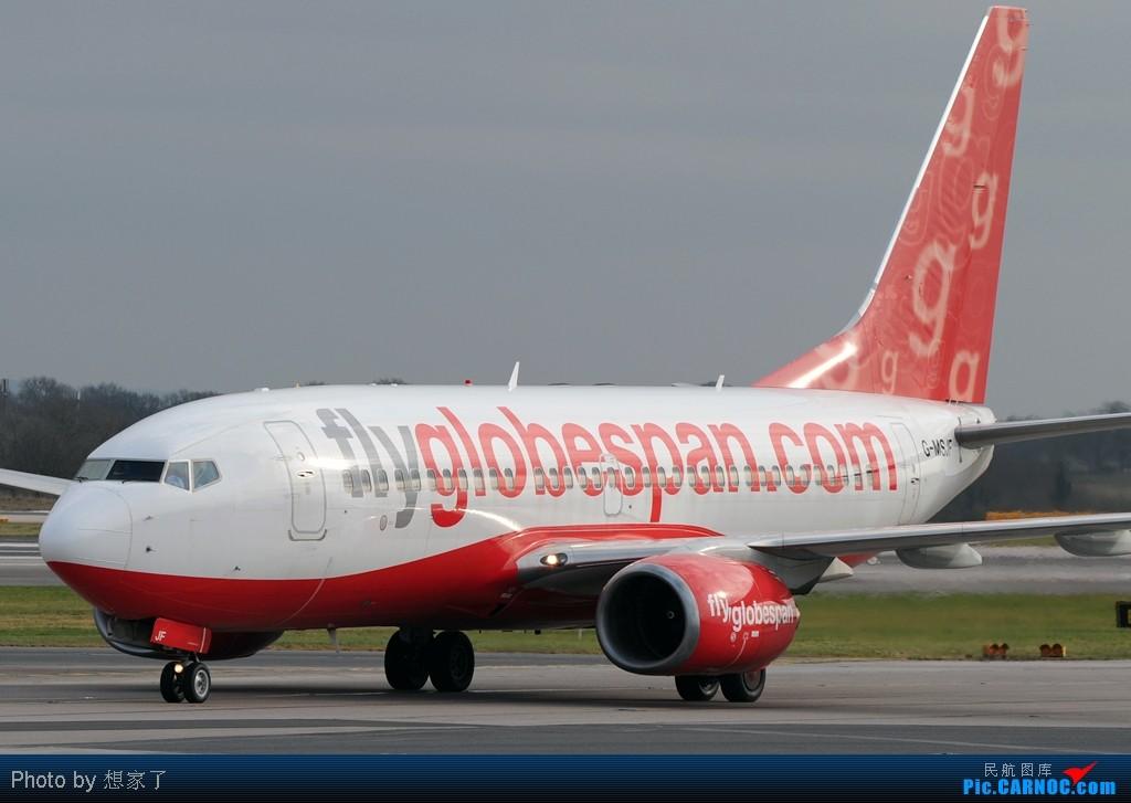 "Re:[原创]曼城---将一英镑的""内场""进行到底(附几张超广角下的拍机阵地) BOEING 737-700 G-MSJF Great Britain (UK) MANCHESTER INTL"