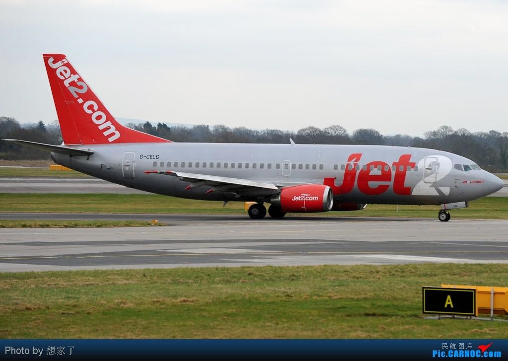 "Re:[原创]曼城---将一英镑的""内场""进行到底(附几张超广角下的拍机阵地) BOEING 737-300 G-CELG Great Britain (UK) MANCHESTER INTL"