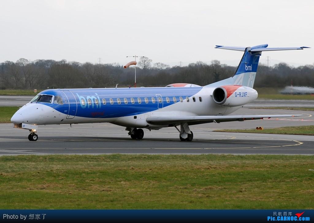 "Re:[原创]曼城---将一英镑的""内场""进行到底(附几张超广角下的拍机阵地) EMBRAER ERJ-145 G-RJFX Great Britain (UK) MANCHESTER INTL"