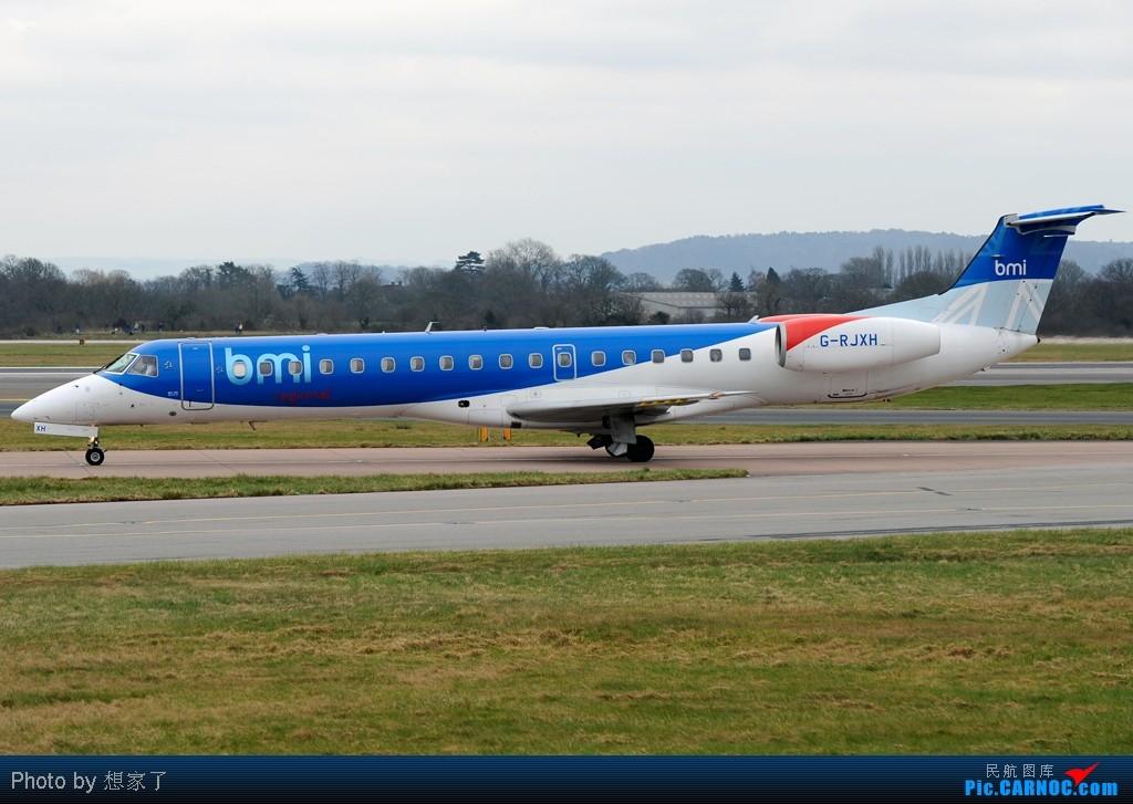 "Re:[原创]曼城---将一英镑的""内场""进行到底(附几张超广角下的拍机阵地) EMBRAER ERJ-145 G-RJXH Great Britain (UK) MANCHESTER INTL"