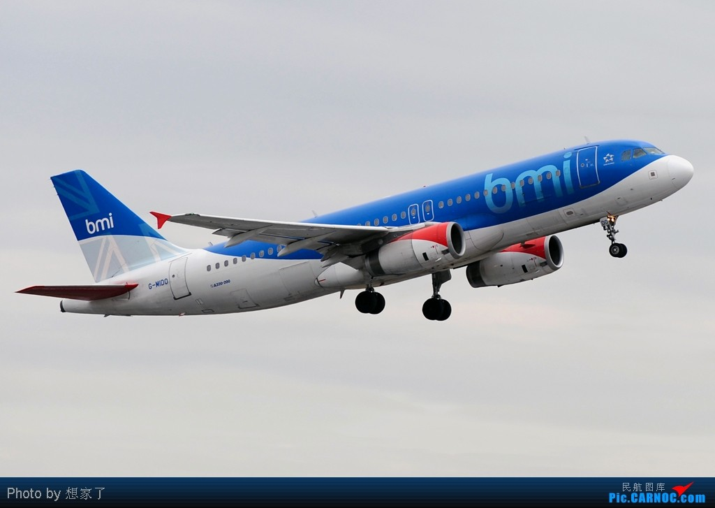 "Re:[原创]曼城---将一英镑的""内场""进行到底(附几张超广角下的拍机阵地) AIRBUS A320-200 G-MIDO Great Britain (UK) MANCHESTER INTL"