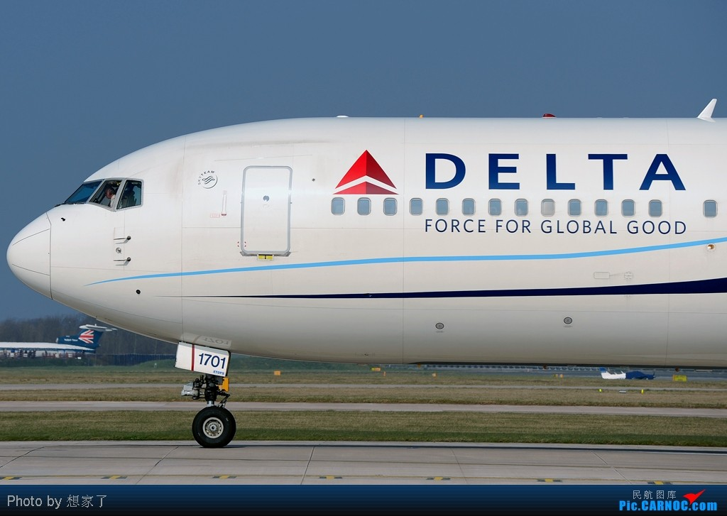 Re:[原创]仅用此帖表达一下与PHU及更多的英国同学一道拍机的希冀(10张图片) BOEING 767-300 N171DZ Great Britain (UK) MANCHESTER INTL