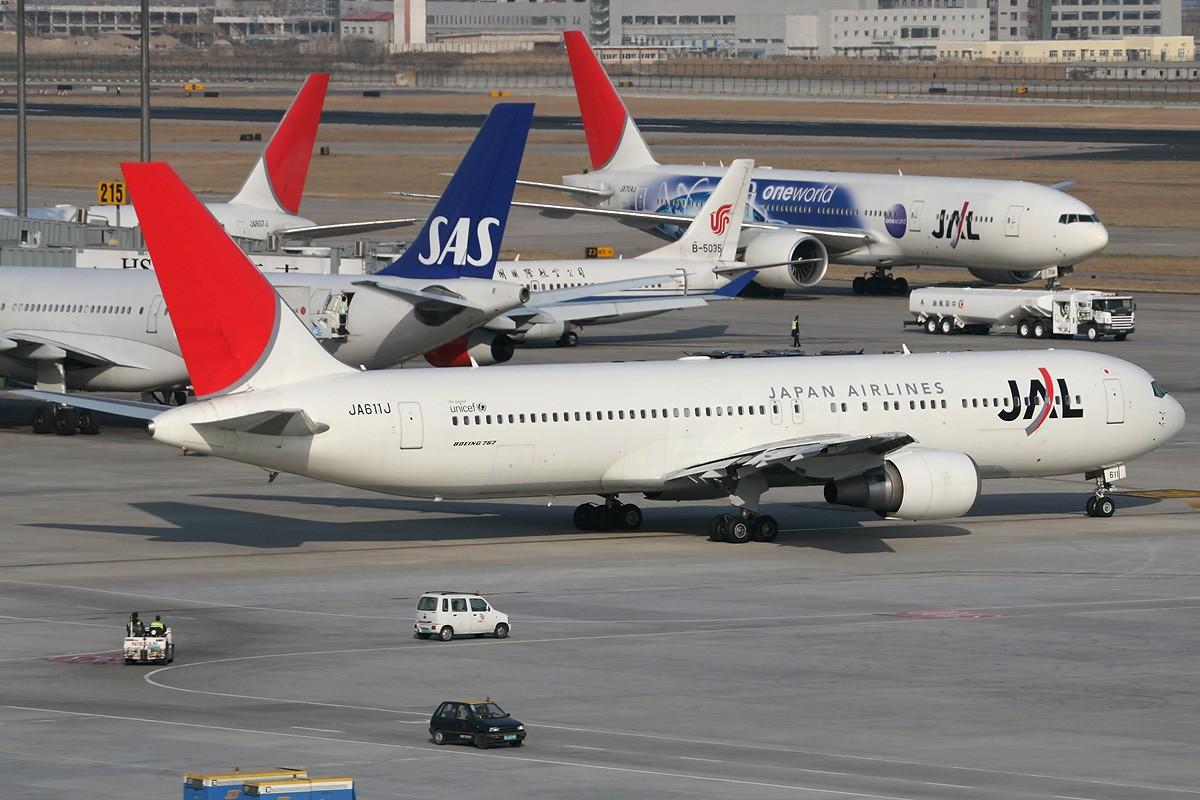 Re:[原创]【CASG】遵照HDZHOU老大的命令,20张图完成本月的任务^_^ BOEING 767-300 JA611J 中国北京首都机场