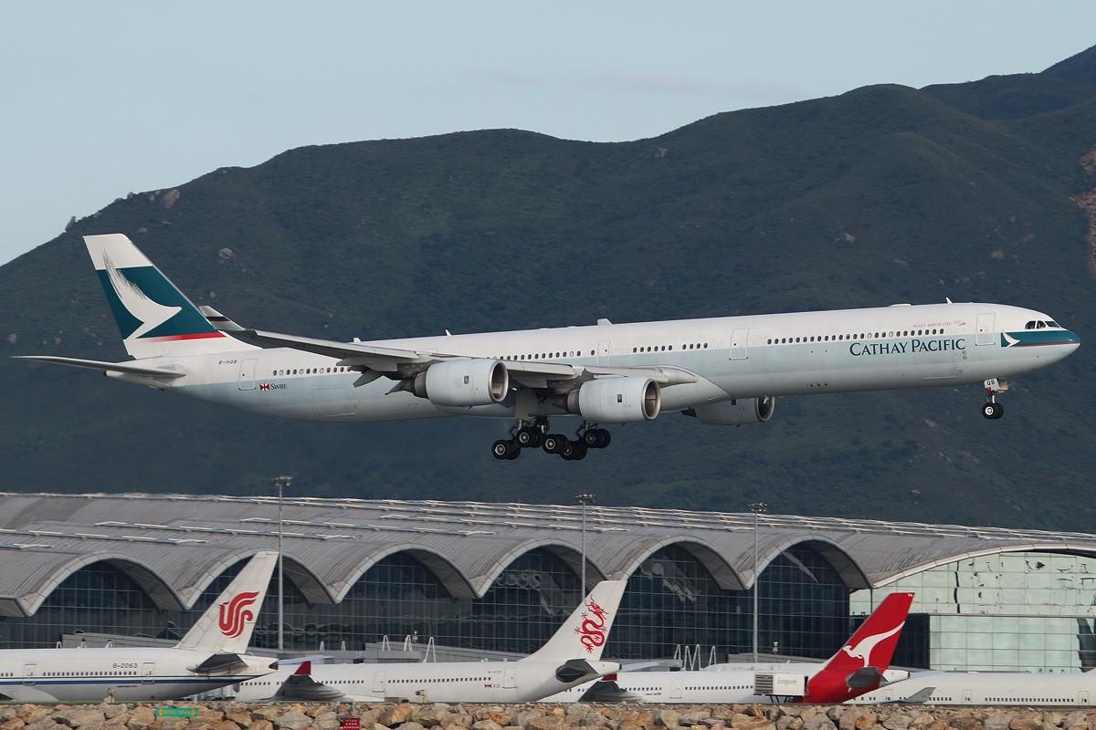 Re:[原创]【CASG】遵照HDZHOU老大的命令,20张图完成本月的任务^_^ A340-642 B-HQB 中国香港赤鱲角国际机场