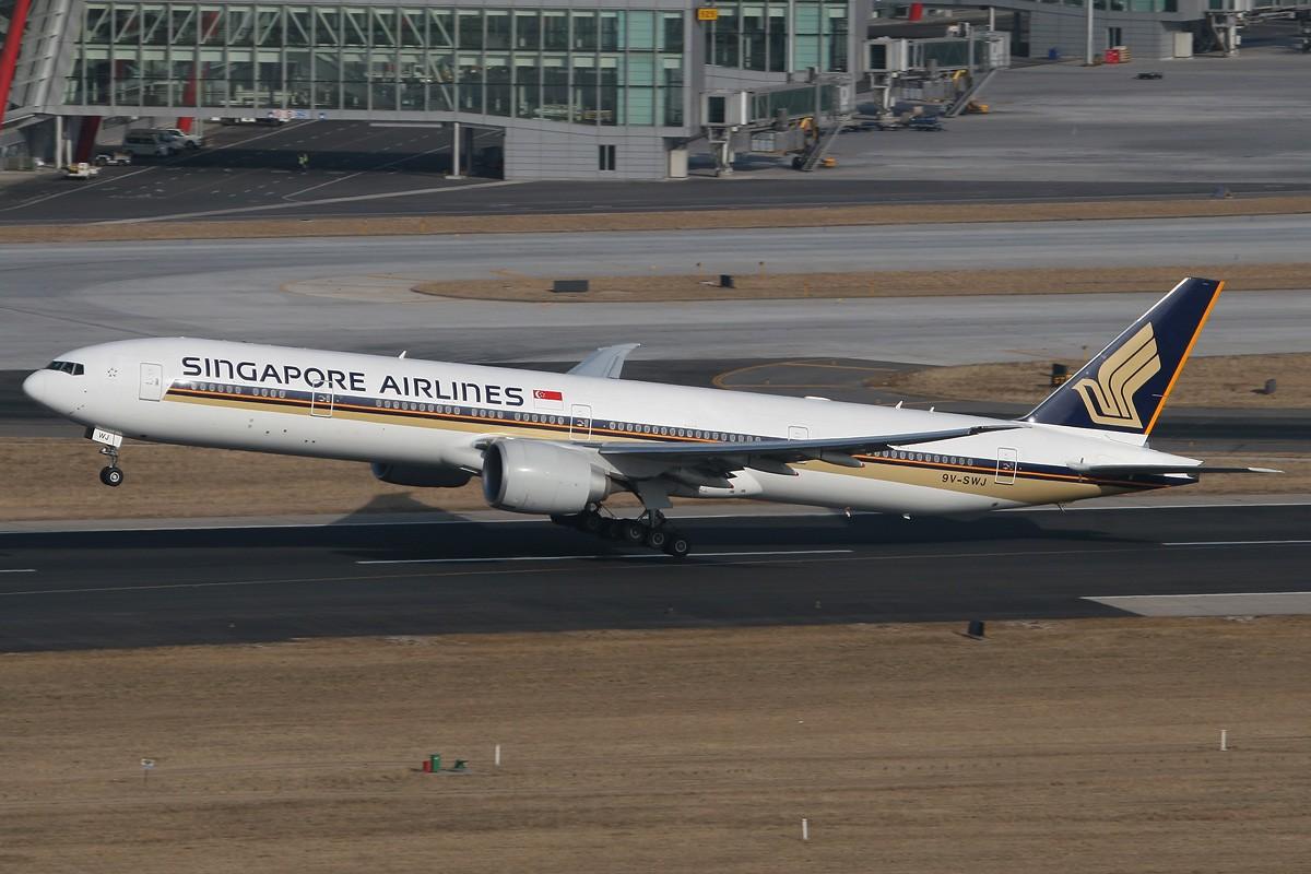 Re:[原创]【CASG】遵照HDZHOU老大的命令,20张图完成本月的任务^_^ BOEING 777-300ER 9V-SWJ 中国北京首都机场