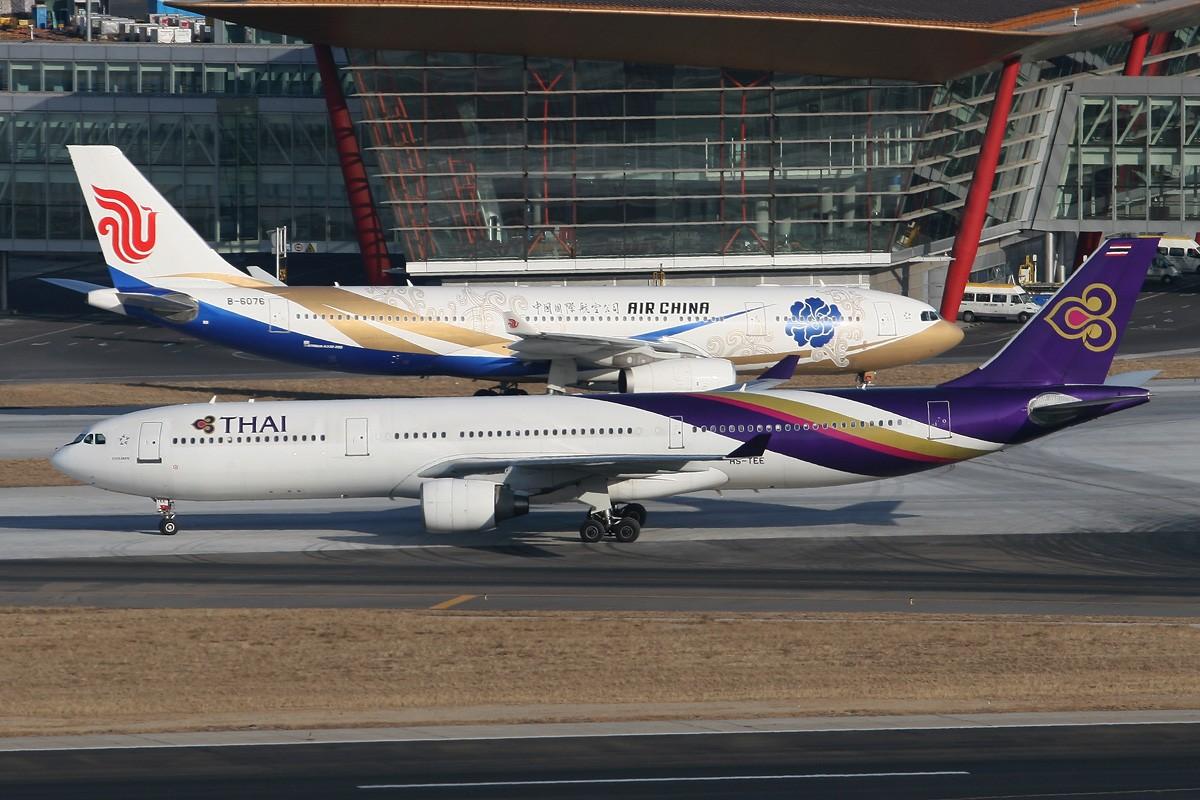 Re:[原创]【CASG】遵照HDZHOU老大的命令,20张图完成本月的任务^_^ AIRBUS A330-300 HS-TEE 中国北京首都机场
