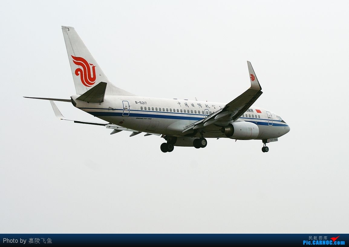 Re:[原创]飞翔--发在三十岁生日前三十天!! BOEING 737-700 B-5217 中国重庆江北机场