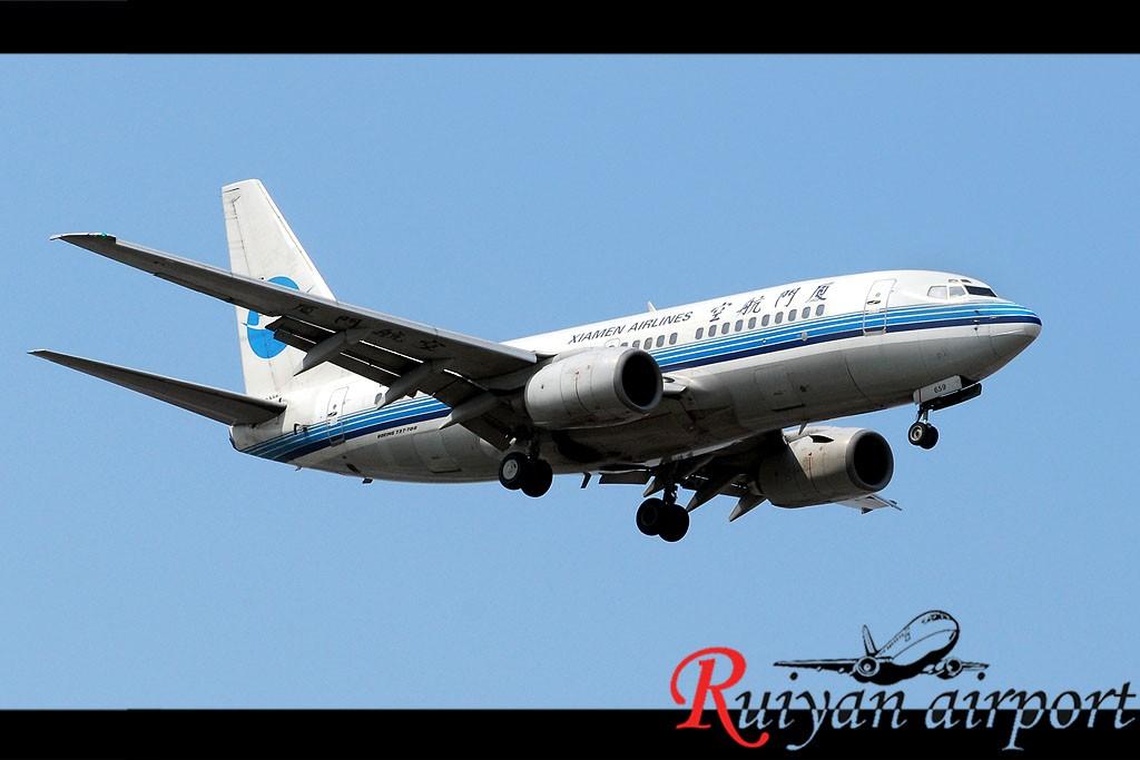 Re:[原创]宁波机场跑道头打飞机 BOEING 737-700 B-2659