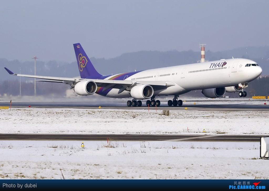 Re:[原创][EASU] 好久没发图了,发点库存,苏黎世的冬天. A340-642 HS-TNF Switzerland ZURICH