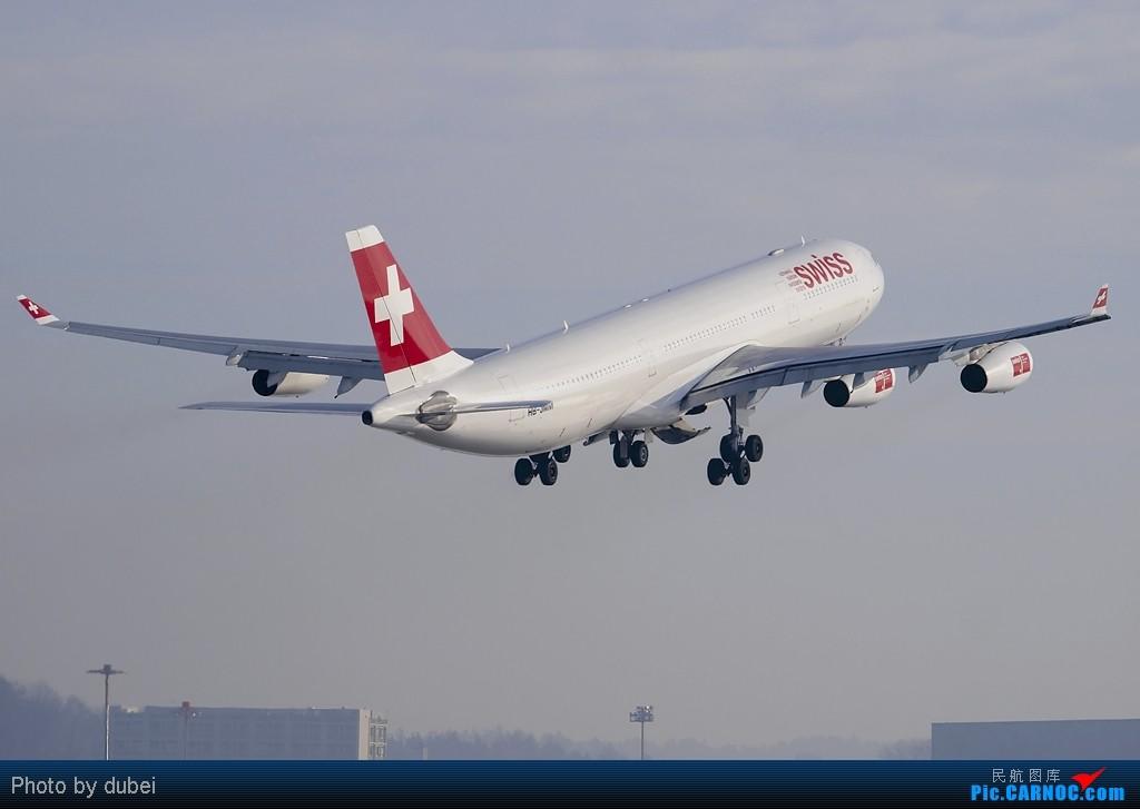 Re:[原创][EASU] 好久没发图了,发点库存,苏黎世的冬天. AIRBUS A340-300 HB-JMM Switzerland ZURICH