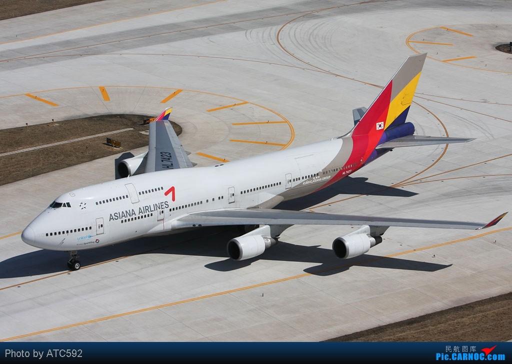 Re:[原创]很久没发帖了,冒个泡。o  O B747 HL-7423 中国北京首都机场