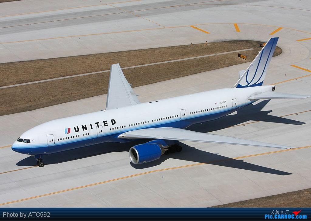 Re:[原创]很久没发帖了,冒个泡。o  O BOEING 777 N217UA 中国北京首都机场