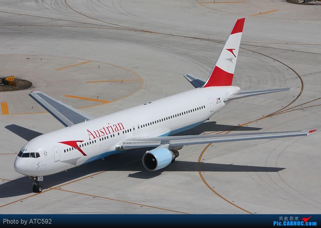 Re:[原创]很久没发帖了,冒个泡。o  O BOEING 767 OE-LAT 中国北京首都机场