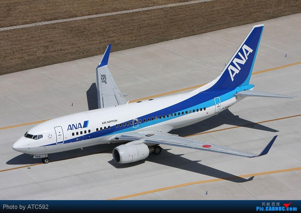 Re:[原创]很久没发帖了,冒个泡。o  O BOEING 737-700 JA15AN 中国北京首都机场