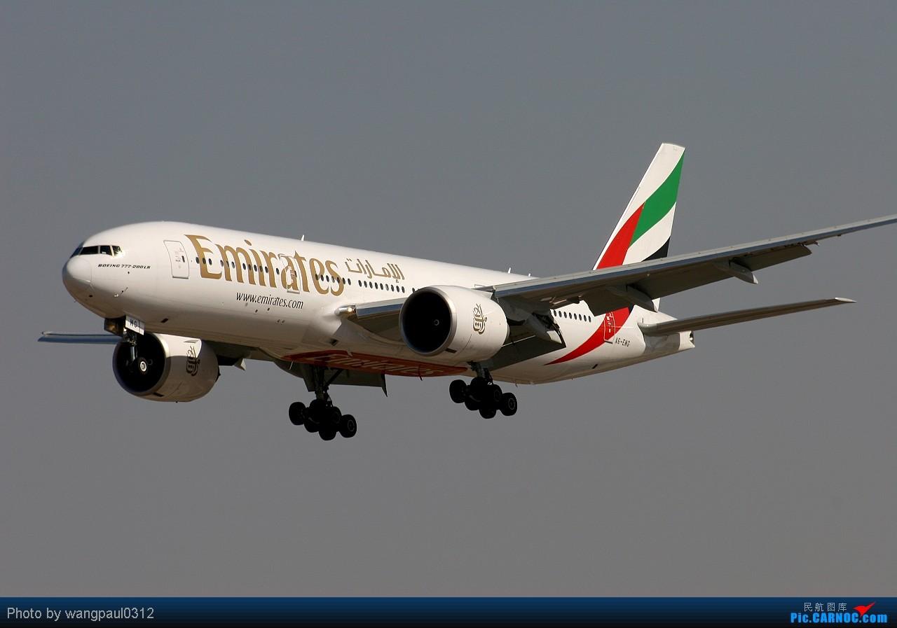 Re:[原创]与几位功勋级的飞友不约而同登上了许久没上的东桥,这次开个阿拉伯专帖 BOEING 777-200LR A6-EWG 北京首都国际机场