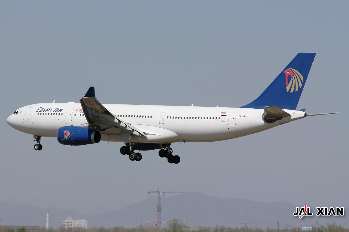 Re:[原创]与几位功勋级的飞友不约而同登上了许久没上的东桥,这次开个阿拉伯专帖 AIRBUS A330-200 SU-GCE 中国北京首都机场